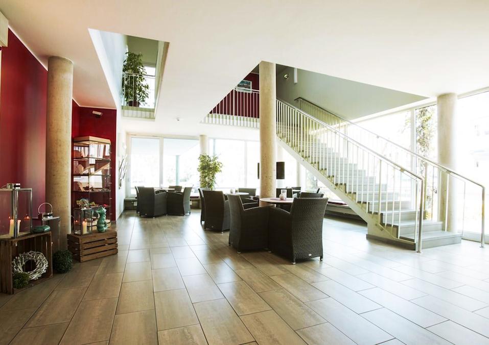 Die Lobby im Atlantic Hotel